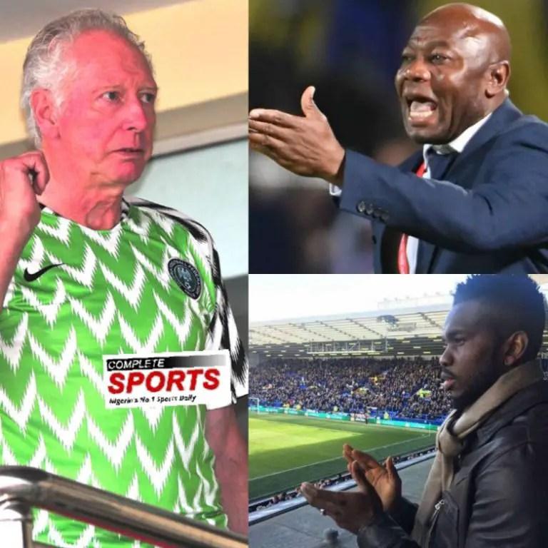 Bonfrere, Amuneke, Yobo Combo Best For Eagles' Next Level   –Akwuegbu