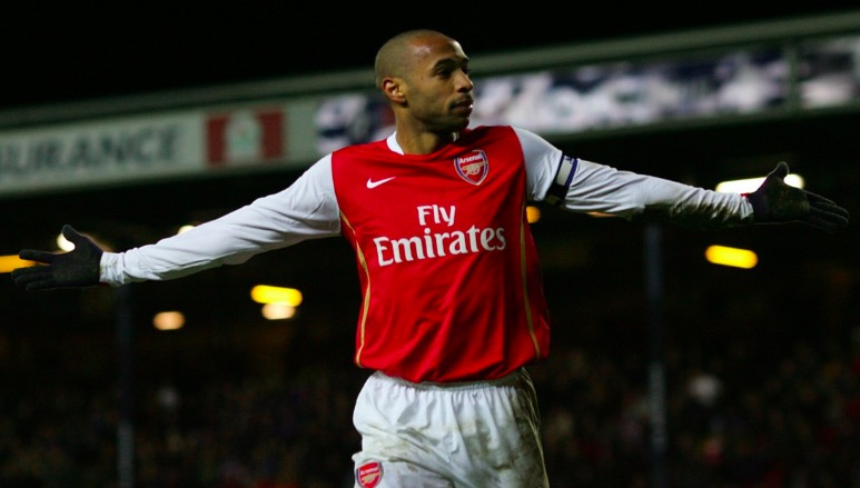 Henry Voted Premier League's Greatest PlayerEver