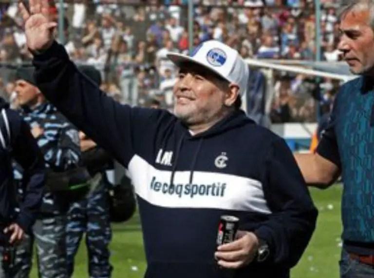 Maradona's Gimnasia Escape Relegation As Argentine FA Cancels Superliga