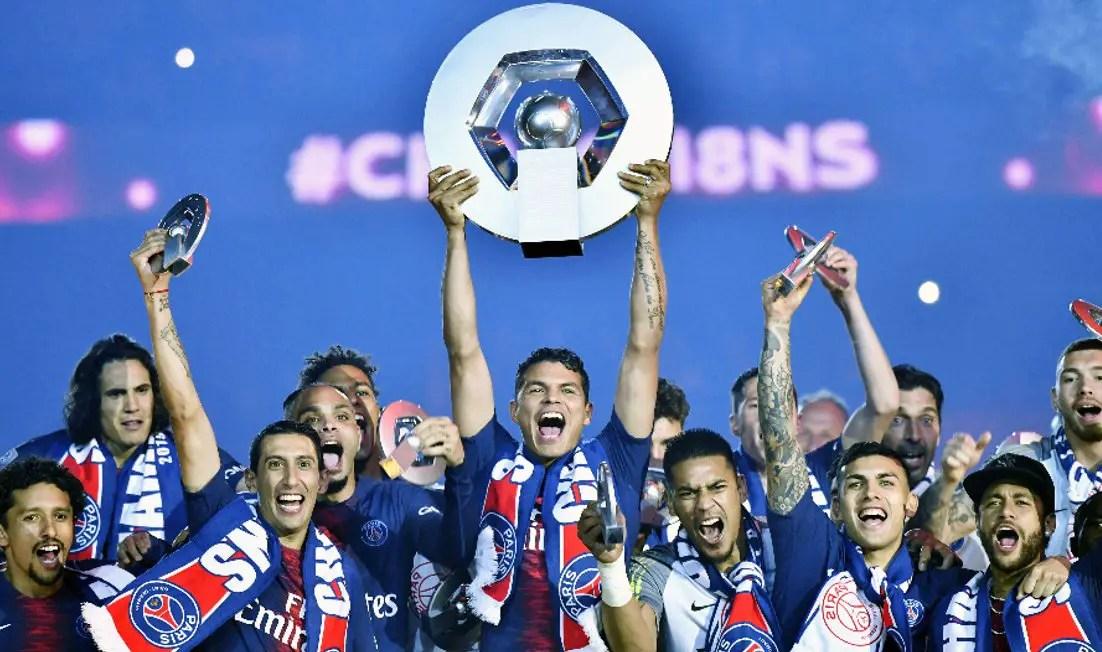 Paris Saint-Germain To Be Crowned Ligue 1 Champions