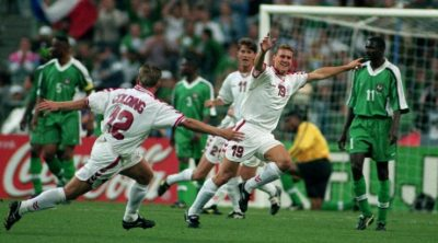 taribo eagles players slept with women before denmark game at france 98