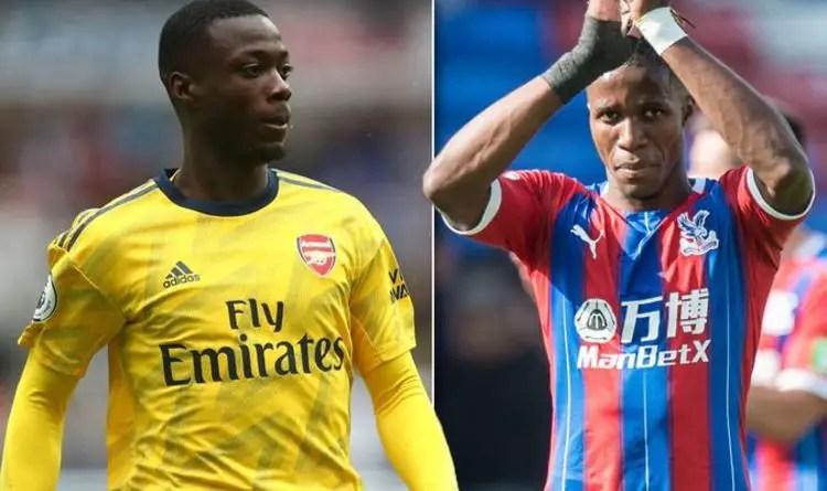 Emery: I Wanted Arsenal To Sign Zaha Not Pepe; Saka Will Be Sensational