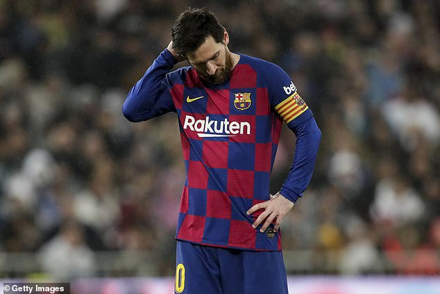 Messi Labels Barcelona Weak Team After Shock Defeat To 10-Man Osasuna
