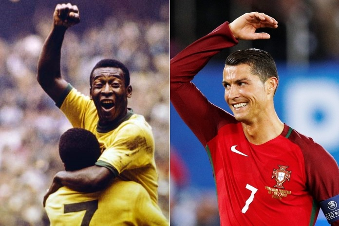 Pele Insists Ronaldo Yet To Beat All-Time Goal Record