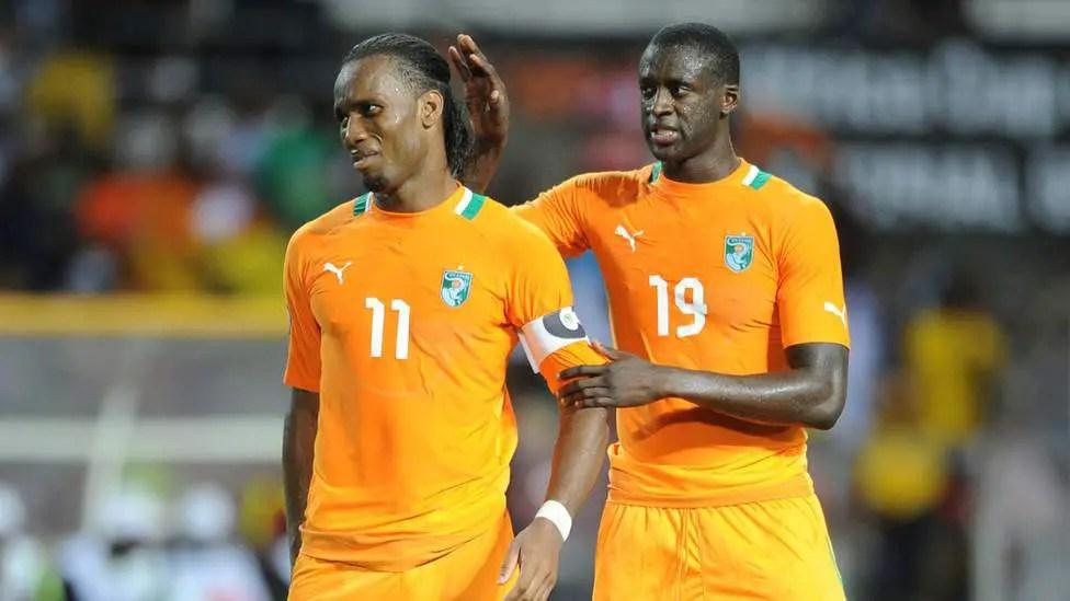 Yaya Toure Backs  Drogba's Bid For Ivorian FA Presidency