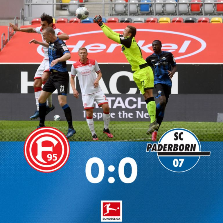 Collins Helps Paderborn Earn Away Draw; Dortmund Thrash Schalke As Bundesliga Returns