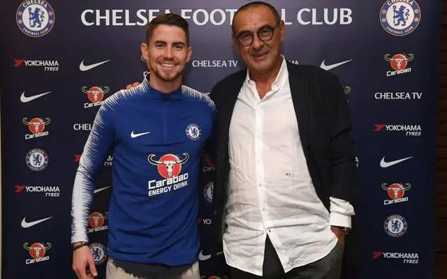 Jorginho Set To Link-up With Sarri AsChelsea Open Talks With Juventus