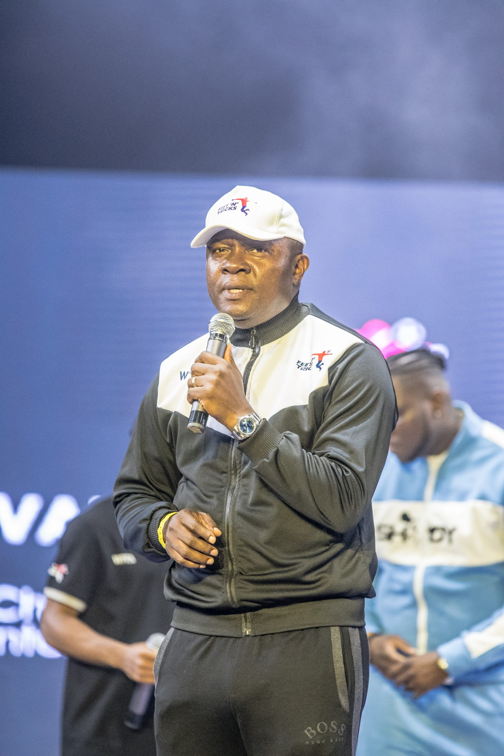 Mr. Valentine Ozigbo speaks on growing freestyle football in Africa