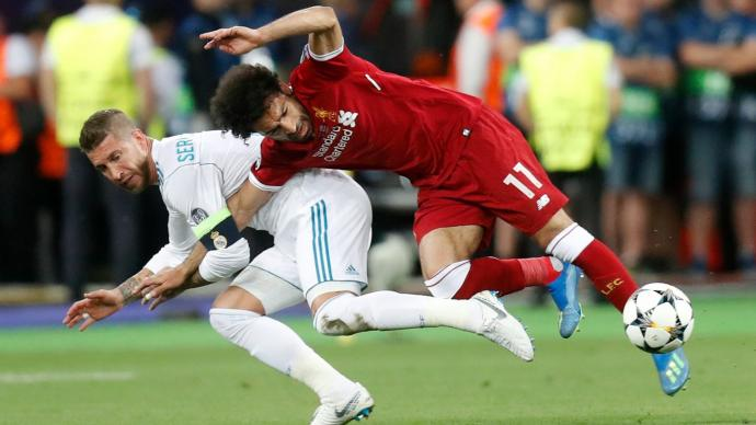 Chiellini Claims Ramos Dislocated Salah's Shoulder On Purpose In Champions League Final