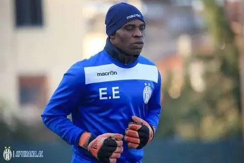 Albania: Ex-Eagles Keeper Egbo's KF Tirana Secure Home Win; Extend Lead At The Top