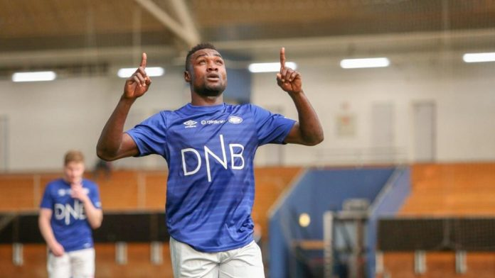 Nigerian Striker Michael Scores For Norwegian Club Valerenga In Friendly Win