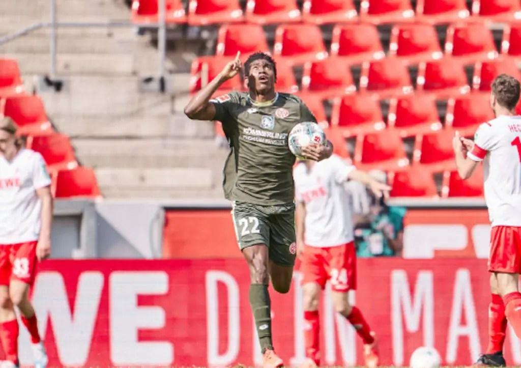 Awoniyi Targets Win, 2nd Bundesliga Goal For Mainz Against Frankfurt