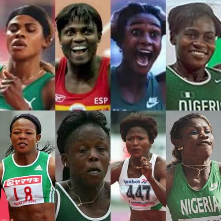 Top 8 Nigeria's Fastest Women In History!