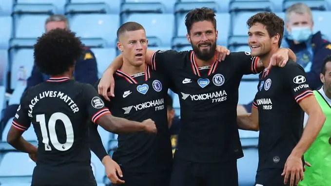Chelsea Strengthen Top Four Hopes With Comeback Win Vs Aston Villa