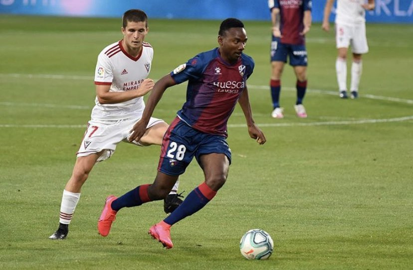Nwakali Keen To Help Huesca Gain Promotion To LaLiga