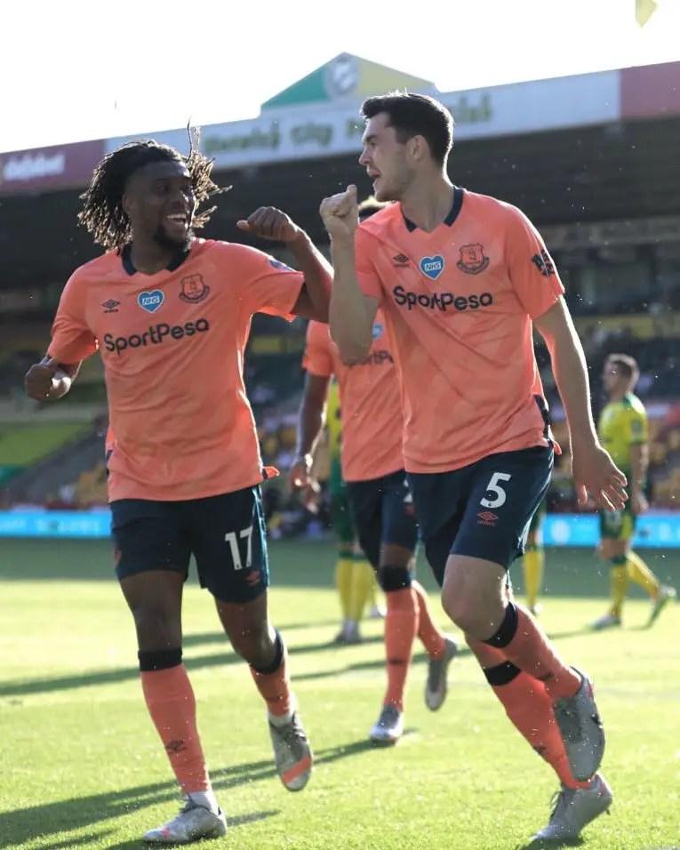 Iwobi Relishes Everton  Away Win At Norwich City