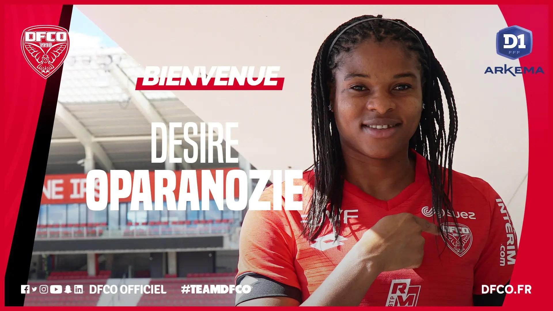 French Club Dijon Sign Super Falcons Striker Oparanozie