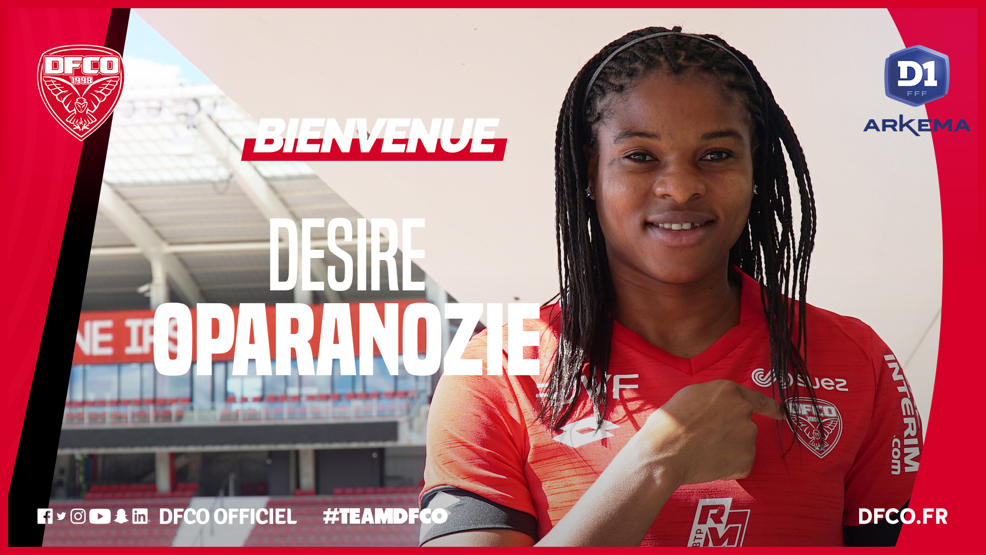 Photo of Dijon Sign Super Falcons Striker OparanozieOn Two-Year Deal