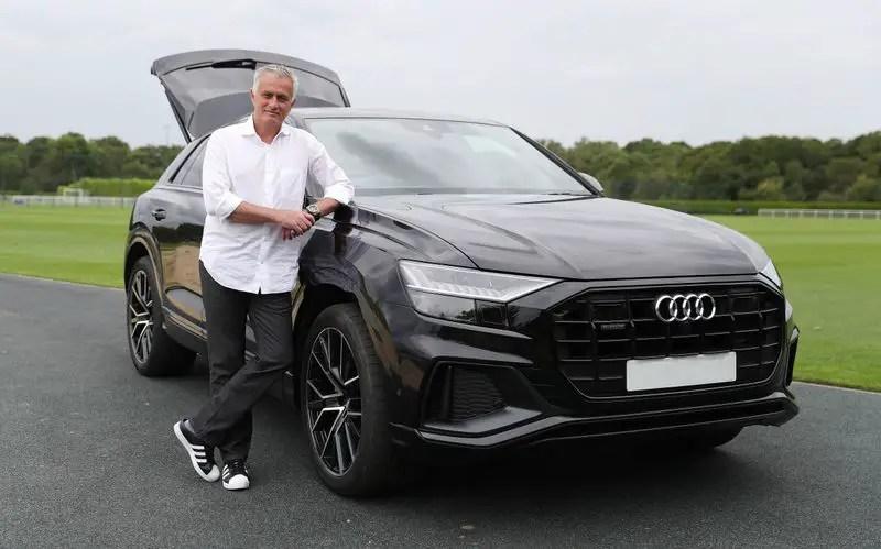Mourinho Takes Delivery Of Posh SUV As Audi Brand Ambassador