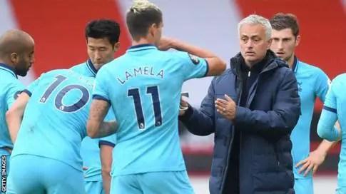 Mourinho Replies Arsenal Over Tottenham Hotspur Mocking