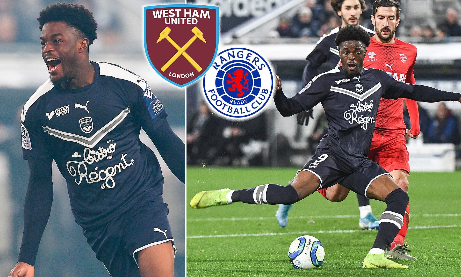 West Ham To Rival Rangers For Maja