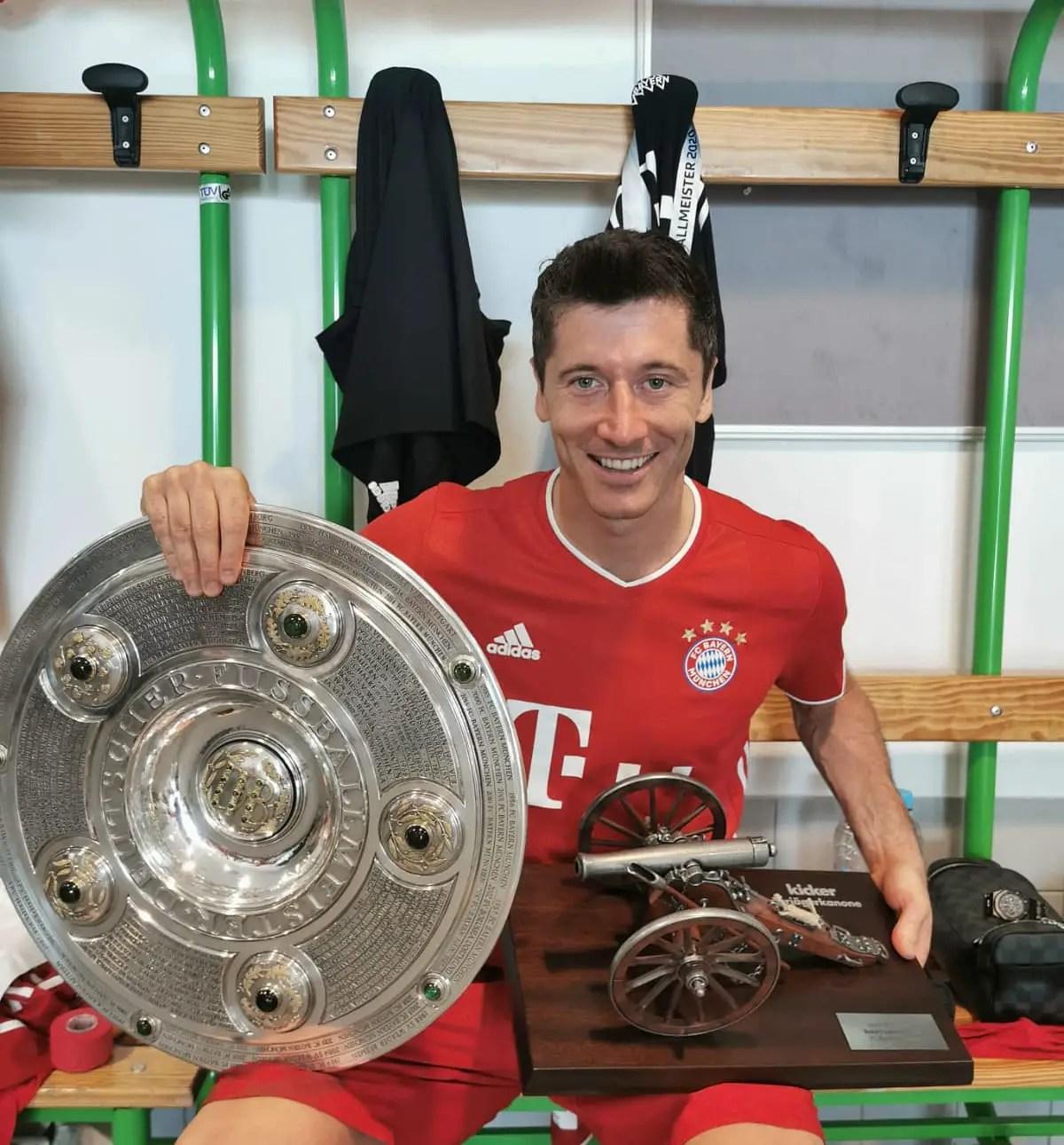 Bundesiga 2019/20 Top Scorer/MVP,  Lewandowski: 'I Want To Be Better,  Score More Goals'