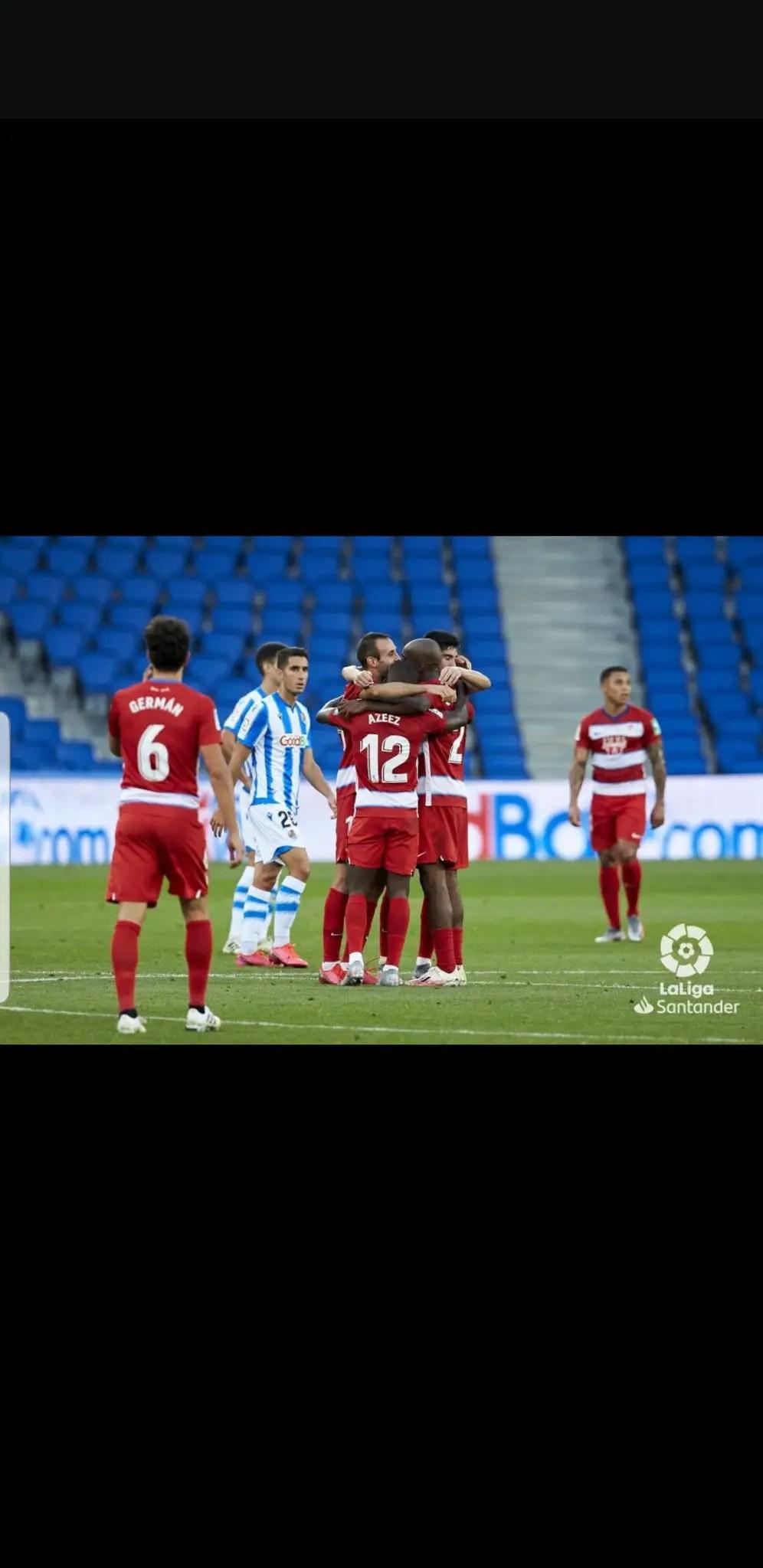 LaLiga:   Azeez Relishes Granada's  Away Win At Sociedad
