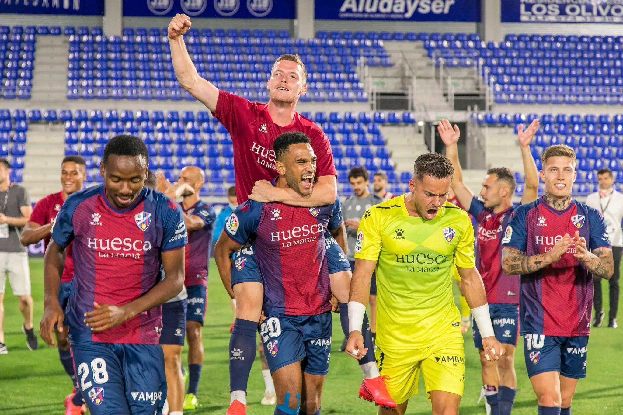 Nwakali Wins LaLiga 2 Title With Huesca