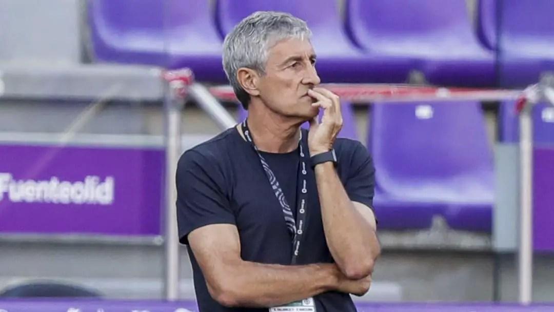 Setien Fears Barcelona Sack After Osasuna Defeat