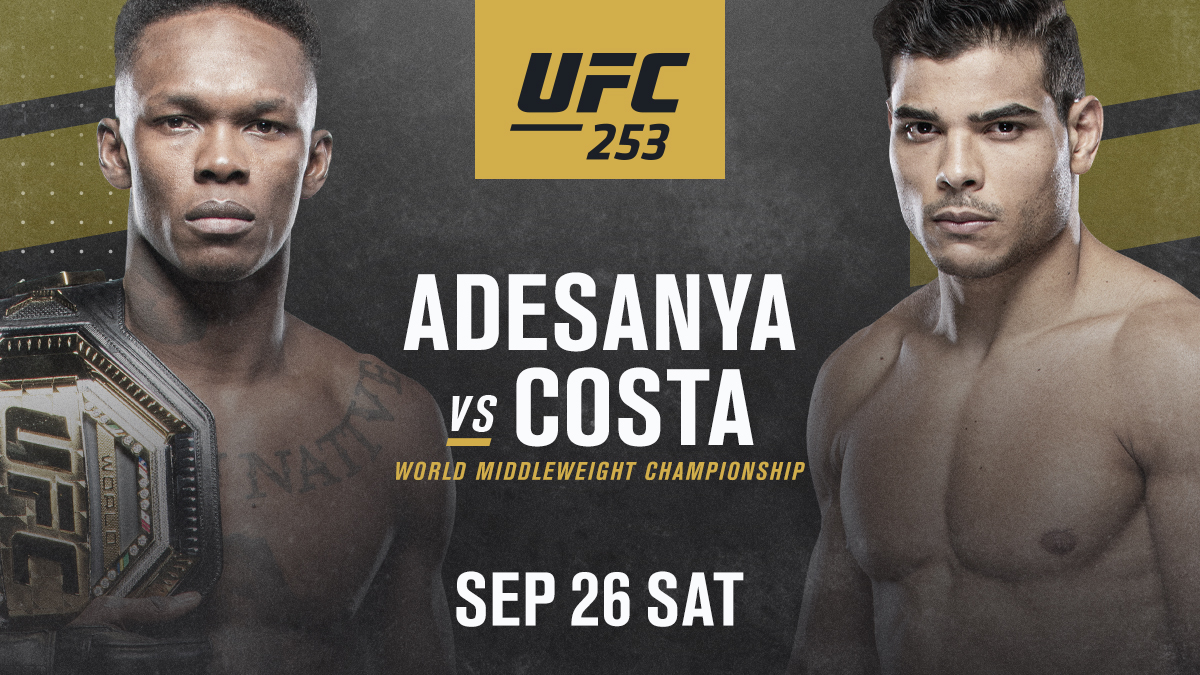 UFC Champion Adesanya To Face Brazilian Undefeated Star Costa