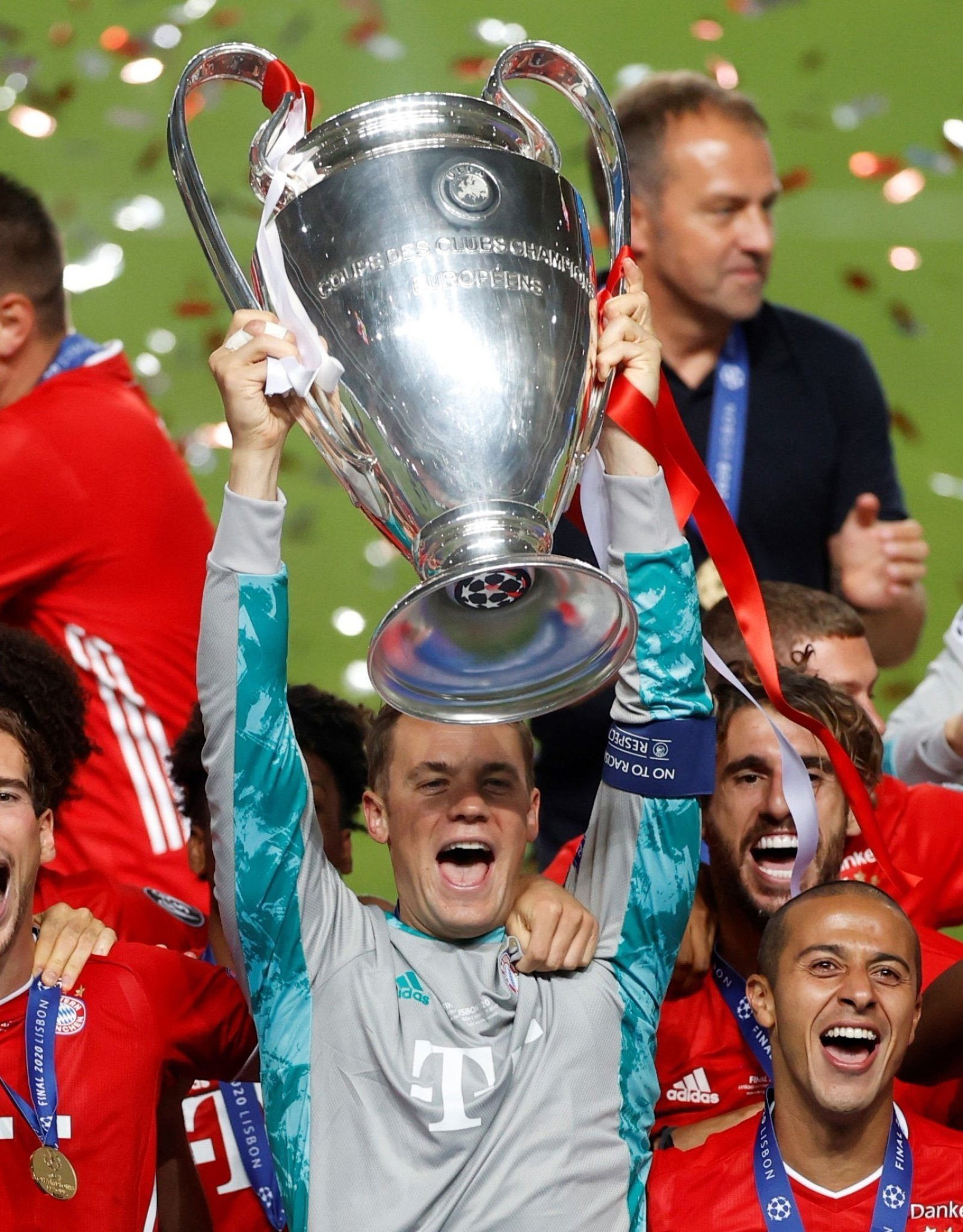 Flick Hails Neuer's Influence In Bayern's UCL Final Win Vs PSG