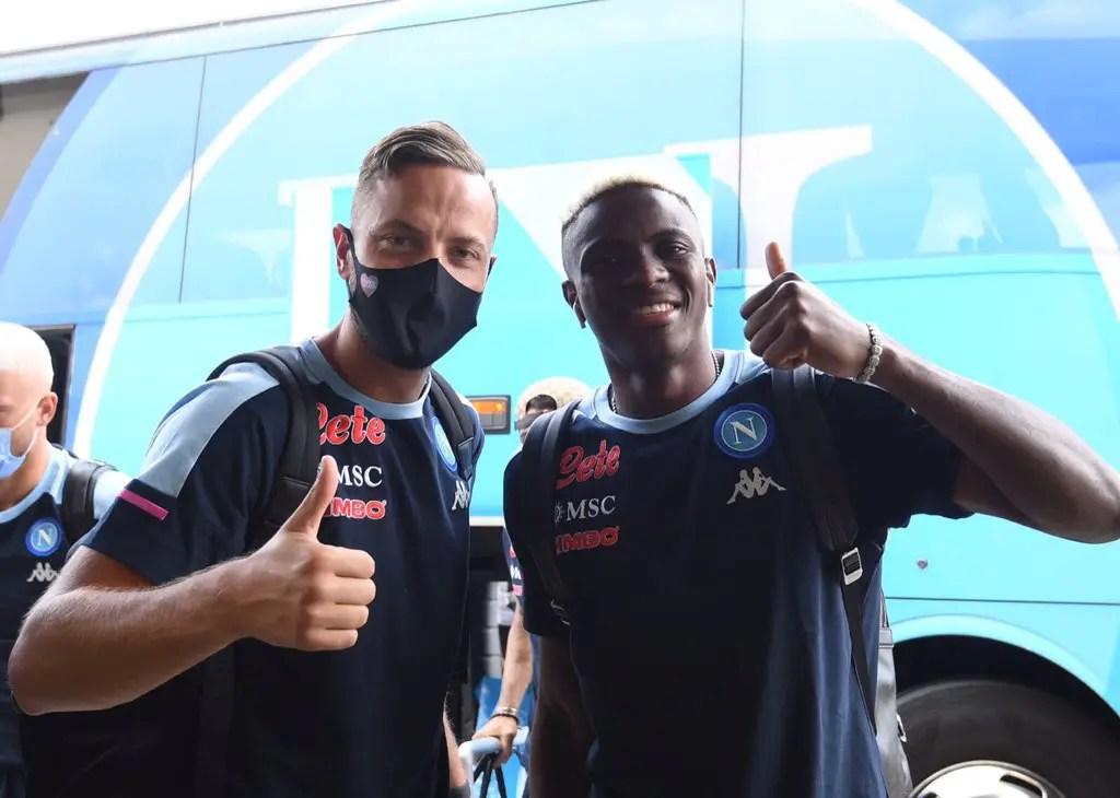 Osimhen Joins Napoli For Pre-Season Training