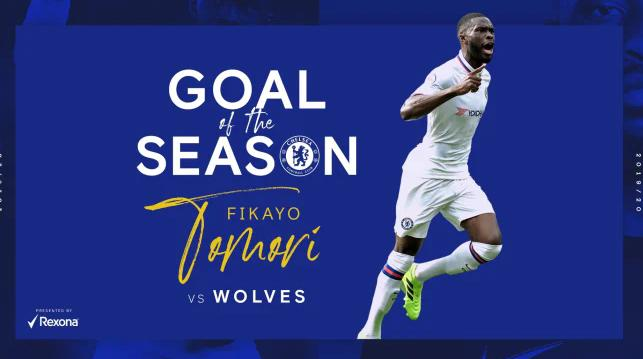 Tomori Wins Chelsea's Goal Of The Season Award