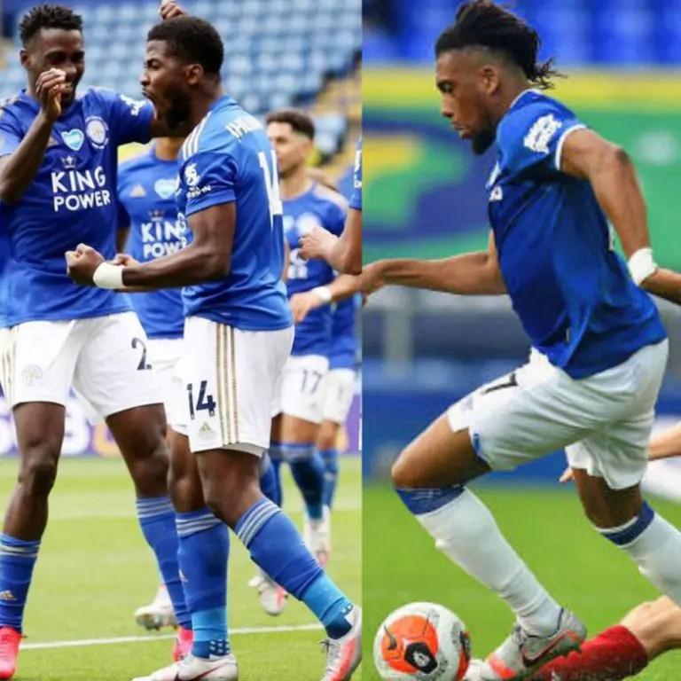 Iheanacho, Iwobi Look To Emulate Ighalo, Score On 2020/21 Premier League Matchday -1