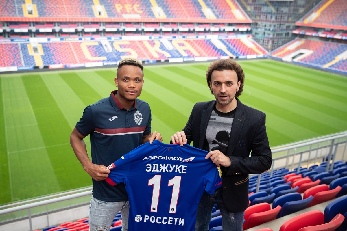 Ejuke Joins CSKA Moscow On Four-Year Contract