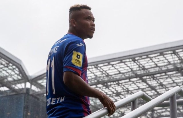 Ejuke Nominated For CSKA Moscow Player Of The Month