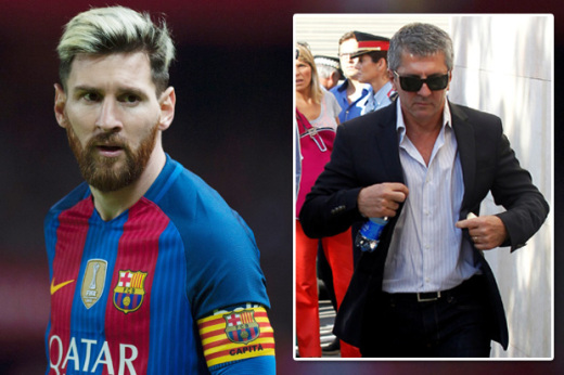 Messi's Dad In England Already Negotiating Transfer With Man City