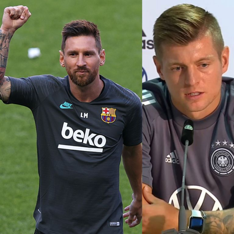 Madrid Star, Kroos: Messi's Exit Will Be Bad For Laliga And Barcelona