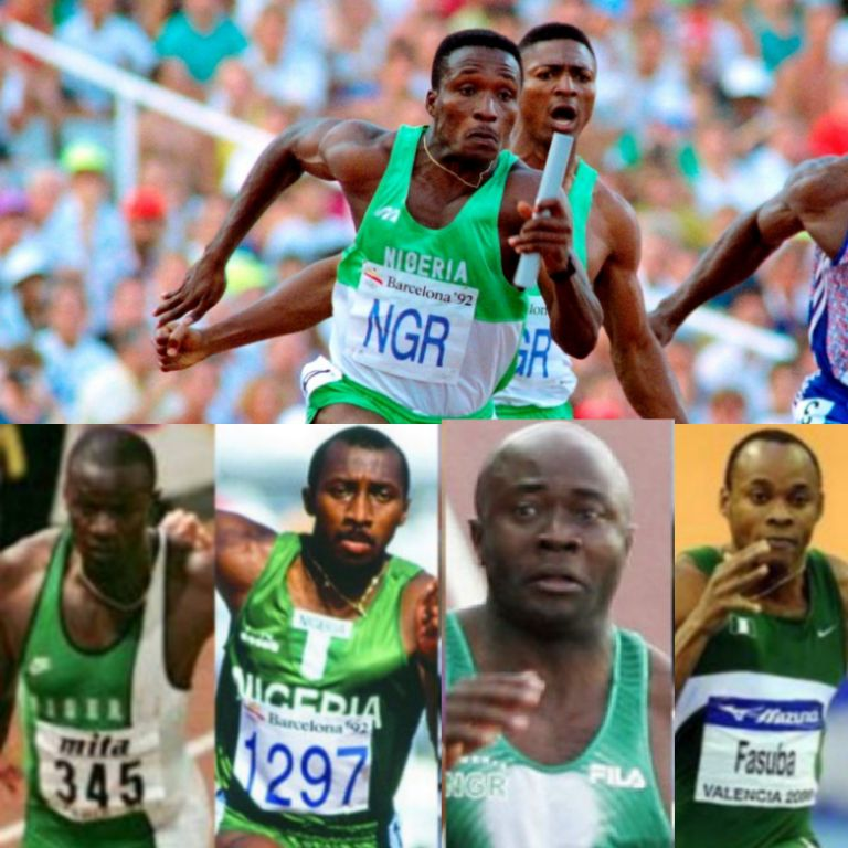 Nigeria's Greatest Track and Field Athletes Of The Olympic Games