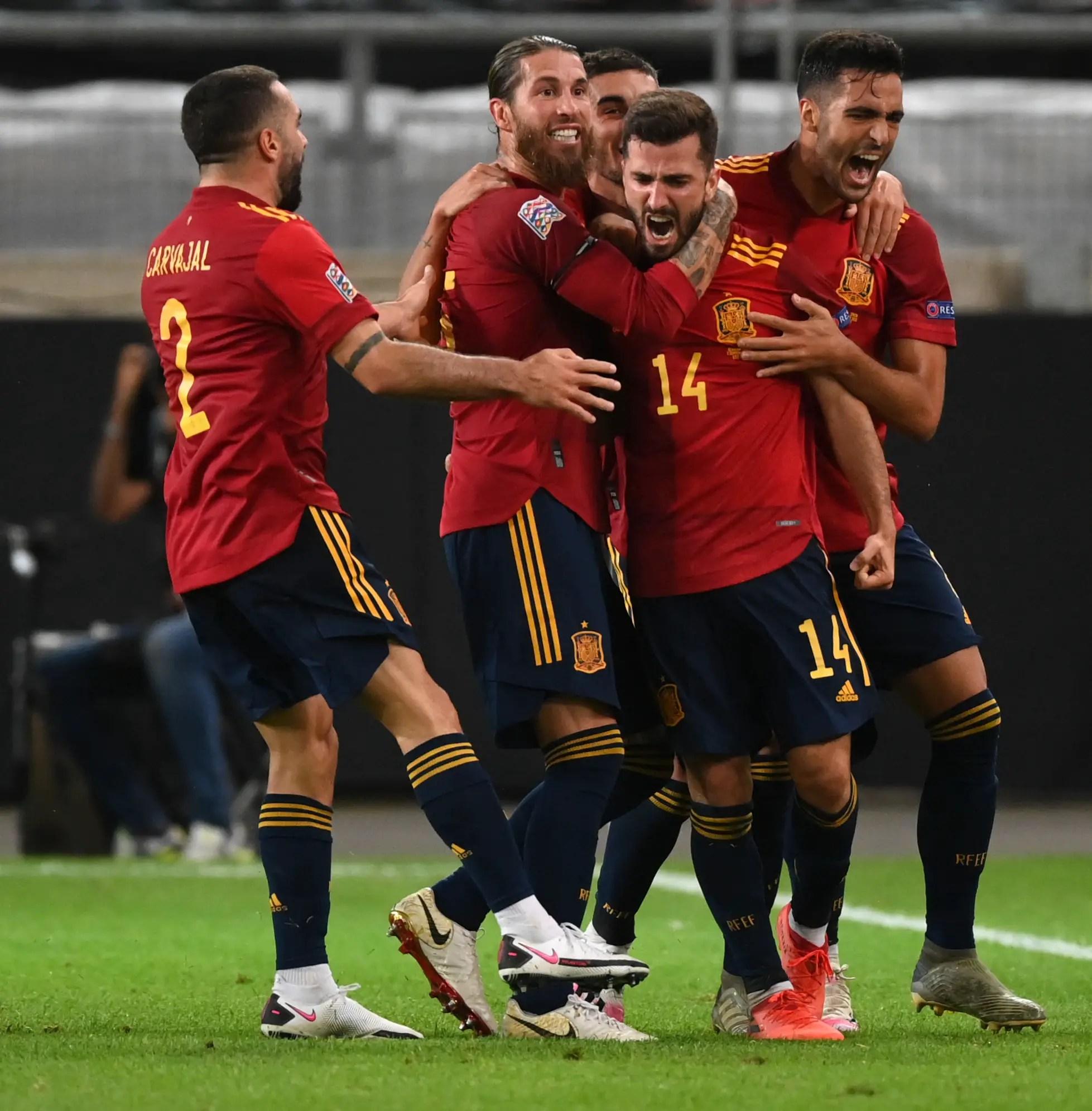 UEFA Nations League: Spain Hold Germany; Ukraine Edge Switzerland In Kiev