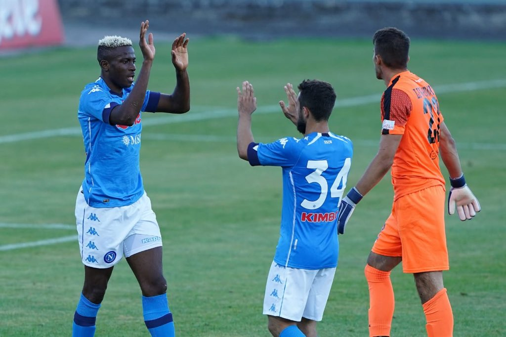 Napoli Defender Ghoulam: Osimhen Will Score Goals For Us