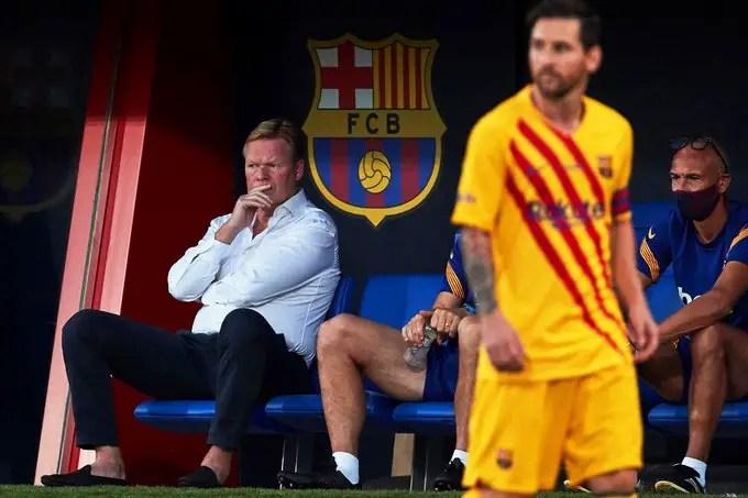 Koeman Blasts PSG Over Interest In Messi