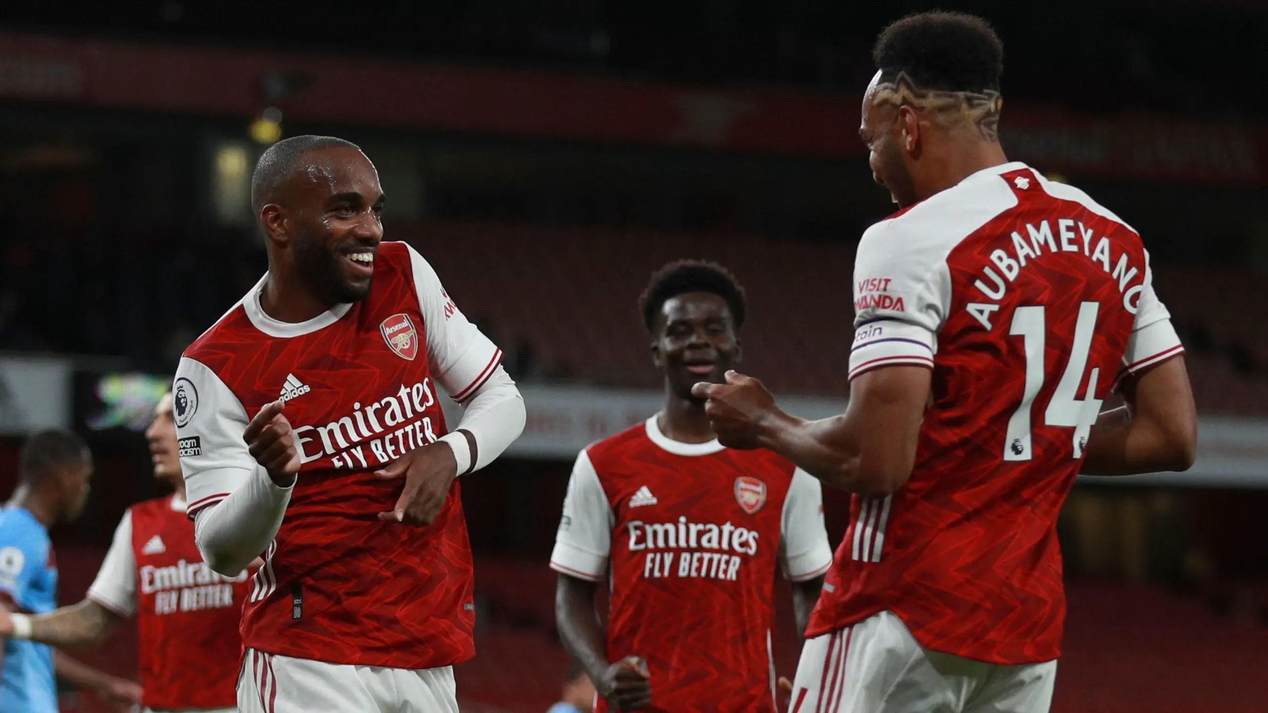 Premier League: Saka Shines As Arsenal's Late Strike Sink West Ham United