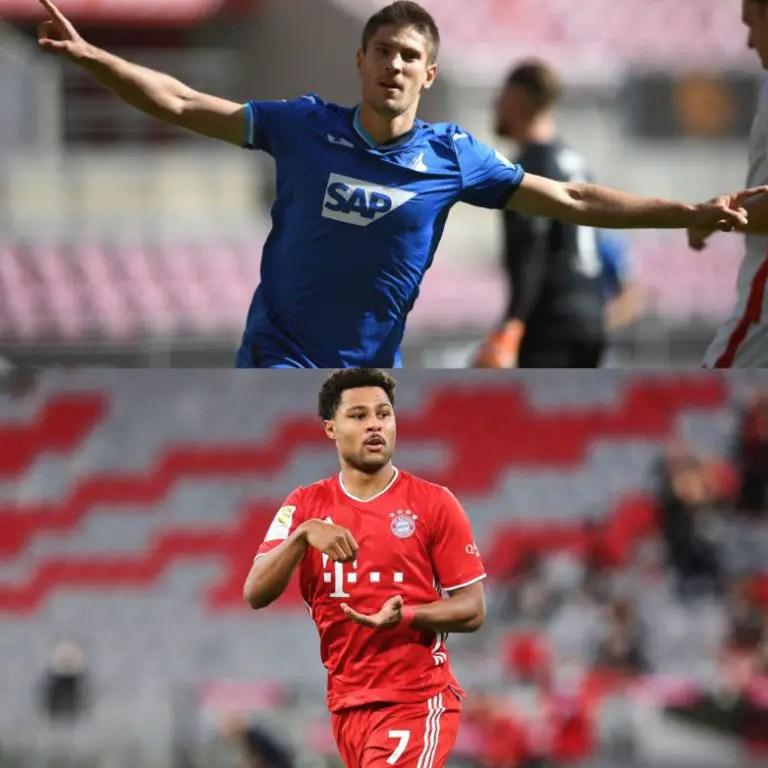 Bundesliga Matchday-2: Hat-Trick Pacesetters Kramaric, Gnabry  Prowl In Hoffenheim – Bayern Clash