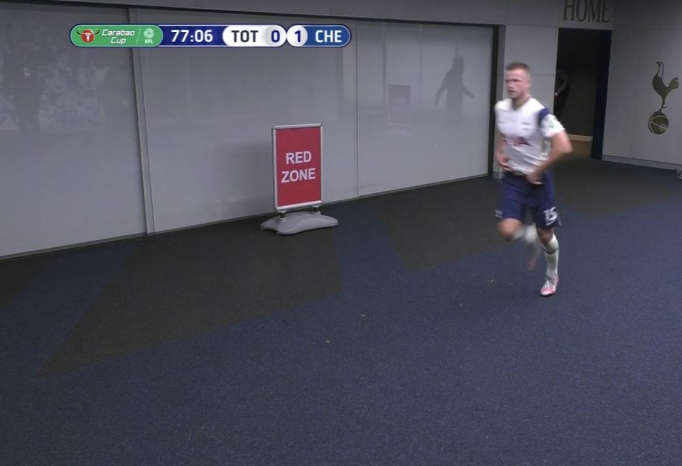 Spurs Star Dier Abandoned Carabao Cup Clash Vs Chelsea To Use Toilet
