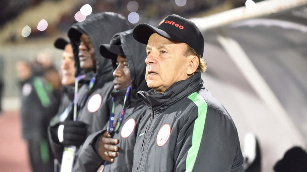 Rohr Confident Super Eagles Will Be  At Qatar 2022
