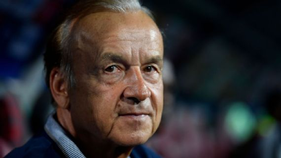 Rohr Elated  With Super Eagles Progress In FIFA Ranking