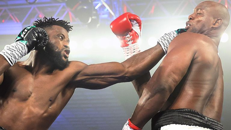 Ajagba Extends Unbeaten Record With Victory Over American Opponent