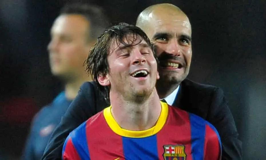 Ex-Bayern Coach, Magath: Messi Helped Barca Win UCL Not Guardiola Tactics