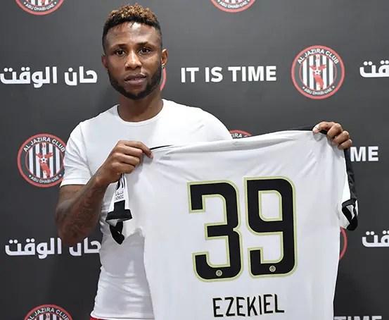 Ezekiel Joins UAE Club Al Jazira